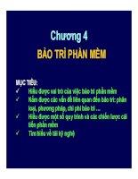 Bài giảng phát triển vận hành và bảo trì phần mềm   chương 4