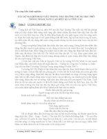 skkn xây DỰNG KHỐI đoàn kết TRONG NHÀ TRƯỜNG TRUNG học PHỔ THÔNG NHẰM NÂNG CAO HIỆU QUẢ CÔNG tác