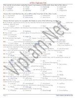 Đề thi và đáp án ôn thi tiếng anh lớp 12 tham khảo bồi dưỡng (25)