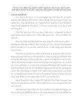skkn NÂNG CAO HIỆU QUẢ dạy học LỊCH sử BẰNG sự kết hợp PHƯƠNG PHÁP TRUYỀN THỐNG với CÔNG NGHỆ THÔNG TIN