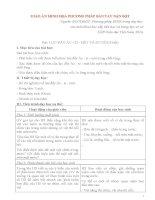 GIÁO án MINH họa PHƯƠNG PHÁP bàn TAY nặn bột bài lực đẩy acsimet