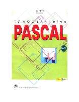 Ebook tự học lập trình pascal (tập 2)  phần 1   bùi việt hà (chủ biên)