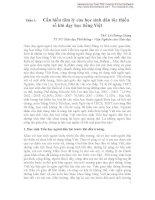 Cần hiểu tâm lý của học sinh dân tộc thiểu số khi dạy học tiếng Việt  ThS. Lê Hoàng Giang