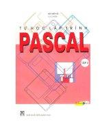Ebook tự học lập trình pascal (tập 3)  phần 1   bùi việt hà (chủ biên)