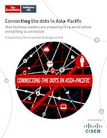 Connecting the dots in asia pacific how business leaders are preparing for a world where everything is connected