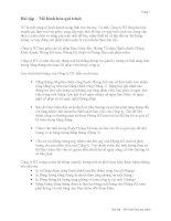 Bài tập mô hình hóa quy trình   công ty HT