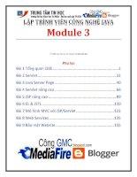 Giáo trình lập trình viên công nghệ java (module 3)   trung tâm tin học đh KHTN
