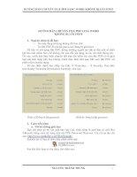 HƯỚNG dẫn CHUYỂN FILE PDF SANG WORD