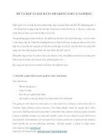 ĐỀ VÀ ĐÁP ÁN BÀI IELTS SPEAKING PART 2
