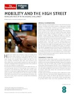 Mobility and the high street retailers face up to the digital challenge
