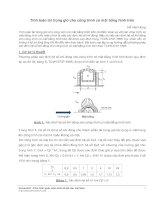 tính toán tải trọng gió cho công trình có mặt bằng hình tròn