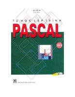 Ebook tự học lập trình pascal (tập 4)  phần 1   bùi việt hà (chủ biên)