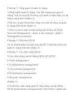 Chương 1  tổng quan về quản lý mạng