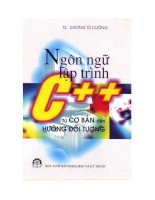 Ebook ngôn ngữ lập trình c   TS  dương tử cường