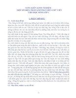 SÁNG KIẾN KINH NGHIỆM MỘT SỐ BIỆN PHÁP GÓP PHẦN RÈN CHỮ VIẾT  CHO HỌC SINH LỚP 1