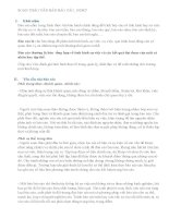 Bài tập về môn soạn thảo văn bản