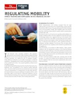 Regulating mobility mobile trading and compliance in the financial sector