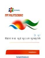 Bài giảng mạng máy tính (đh FPT)   chương 1 khái niệm và ứng dụng của mạng máy tính