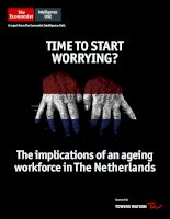 Time to start worrying the implications of an ageing workforce in the netherlands