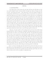 THỰC TRẠNG CÔNG TÁC CẢI CÁCH THỦ TỤC HÀNH CHÍNH TẠI ĐIỆN AN, ĐIỆN BÀN, QUẢNG NAM