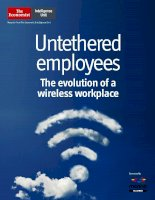 Untethered employees the evolution of a wireless workplace