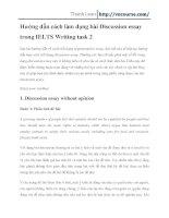 Hướng dẫn cách làm dạng bài Discussion essay trong IELTS Writing task 2