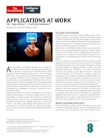 Applications at work the app culture, IT and the business