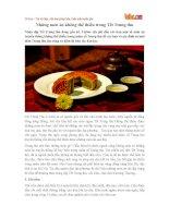 Những món ăn không thể thiếu trong Tết Trung thu
