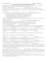 giáo án phụ đạo vật lí 10 cơ bản tuyệt vời
