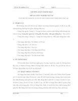 HƯỚNG DẪN TRÌNH BÀY ĐỒ ÁN TỐT NGHIỆP KỸ SƯ (TẬP THUYẾT MINH ĐỒ ÁN ĐƯỢC THỰC HIỆN 2 MẶT TRÊN KHỔ GIẤY A4)