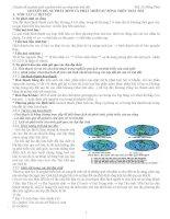 SỰ PHÁT SINH và PHÁT TRIỂN sự SỐNG TRÊN TRÁI đất