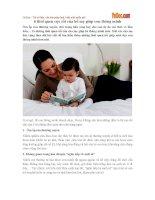 6 thói quen cực tốt của bố mẹ giúp con thông minh