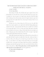 MỘT số BIỆN PHÁP NÂNG CAO CHẤT LƯỢNG PHÁT TRIỂN NGÔN NGỮ CHO TRẺ 24   36 THÁNG
