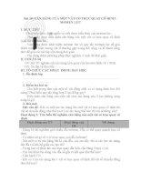 Bài 18 cân BẰNG CỦA một vật CÓ TRỤC QUAY cố ĐỊNH   MOMEN lực