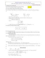 Giải bài tập vật lý 11