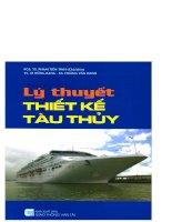 Giáo trình lý thuyết thiết kế tàu thủy  phần 1   PGS TS  phạm tiến tỉnh (chủ biên)