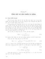 Ebook lý thuyết điều khiển tự động thông thường và hiện đại   quyển 1  phần 2   PGS TS  nguyễn thương ngô