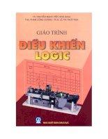 Giáo trình điều khiển logic  phần 1   TS  nguyễn mạnh tiến (chủ biên)