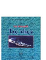 Ebook lý thuyết tàu thủy  phần 1   PGS TS  nguyễn cảnh thanh