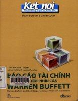 Báo cáo tài chính dưới góc nhìn của warren buffett PDF ebook