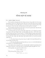 Ebook lý thuyết điều khiển tự động thông thường và hiện đại   quyển 2  phần 2   PGS TS  nguyễn thương ngô