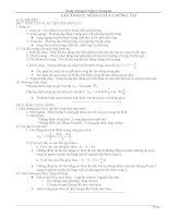 đề cương ôn tập chương 2 vật lí