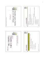 Bài giảng hệ thống viễn thông  chương 1   ths  huỳnh thụy bảo trân