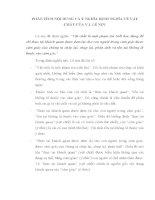 PHÂN TÍCH nội DUNG và ý NGHĨA ĐỊNH NGHĨA về vật CHẤT của v i  lê NIN