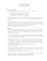 Bài tập thanh toán quốc tế   bài tập chương 1  tỷ giá hối đoái