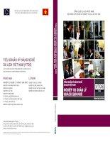 Ebook tiêu chuẩn kỹ năng nghề du lịch việt nam   quản lý khách sạn nhỏ  phần 1