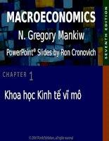 Bài giảng kinh tế vĩ mô  chương 1   n  gregory mankiw