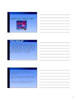 Bài giảng sinh học đại cương  chương 3   GV  nguyễn thành luân