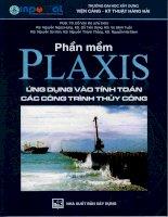 Ebook phần mềm plaxis ứng dụng vào tính toán các công trình thủy công   NXB xây dựng