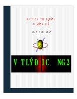 Bài giảng vật lý đại cương 2  chương 1   GV  nguyễn như xuân